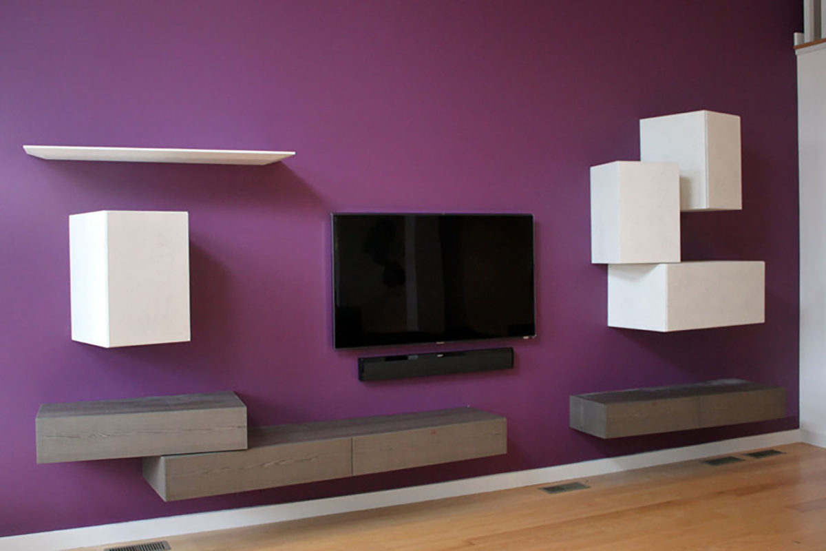 Arranging Modular Wall Units