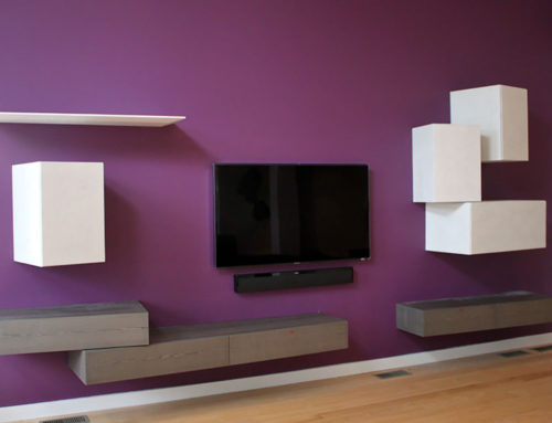 New Wall Unit with Media Center