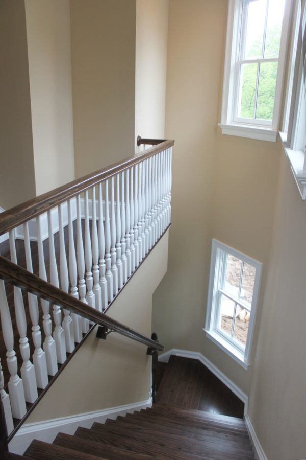 Beige Back Staircase