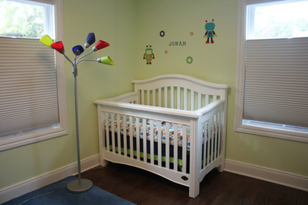 Painting a Nursery Yellow/Green