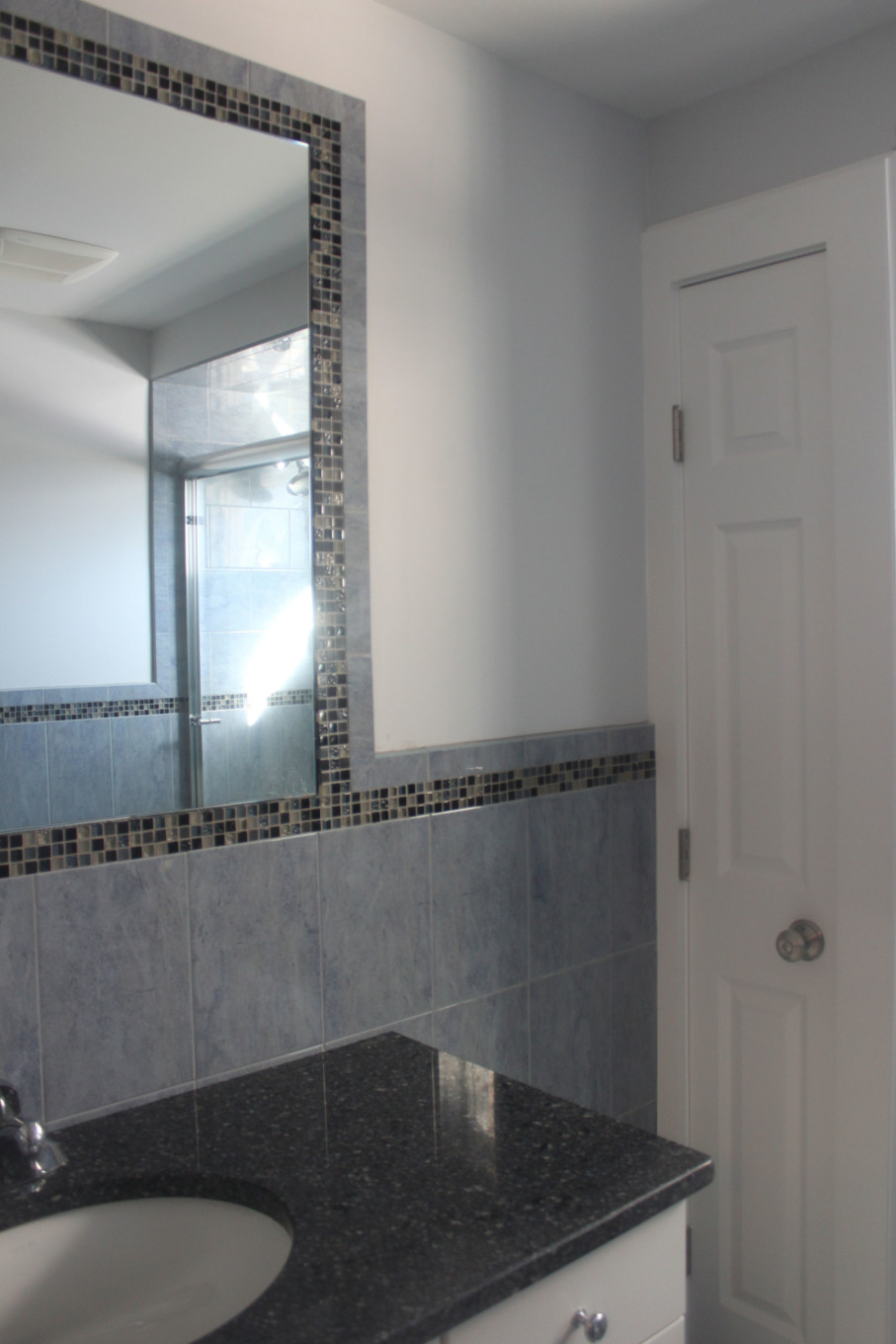 Palest Gray/Blue in Bathroom