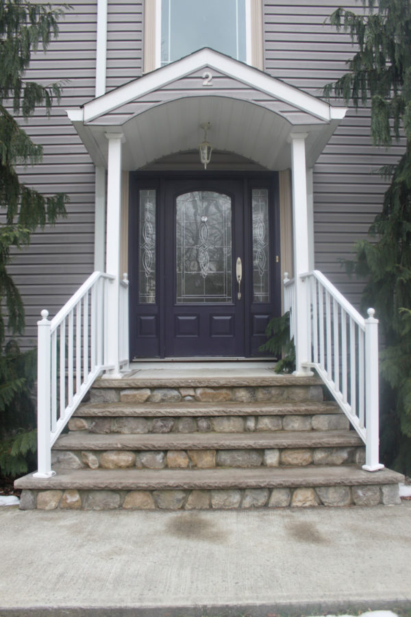 Deep Purple/Gray for Front Door