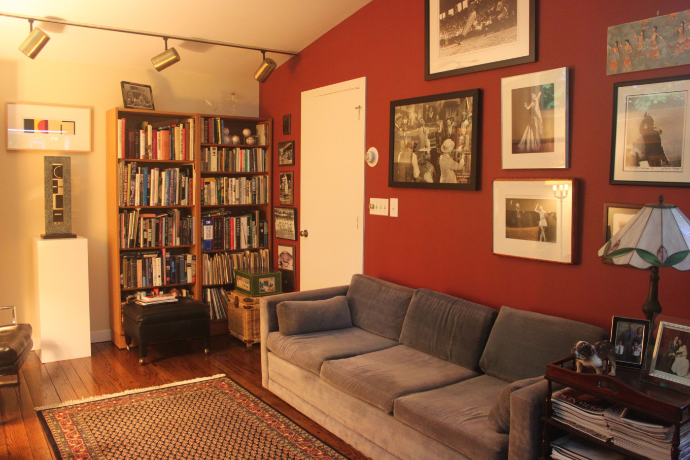 Red Wall in White Den
