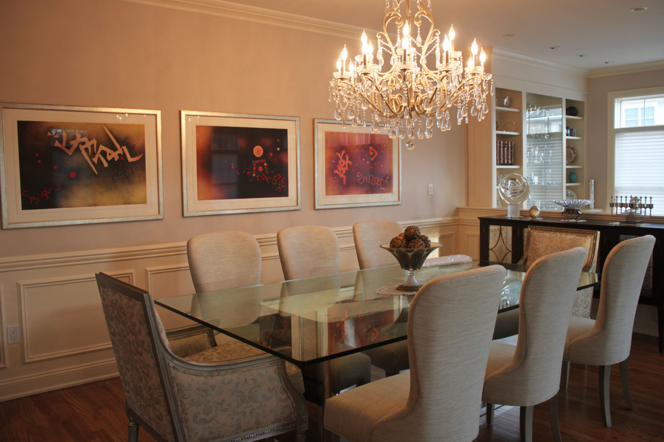 Framing And Hanging Art Prints Choosing In Dining Room