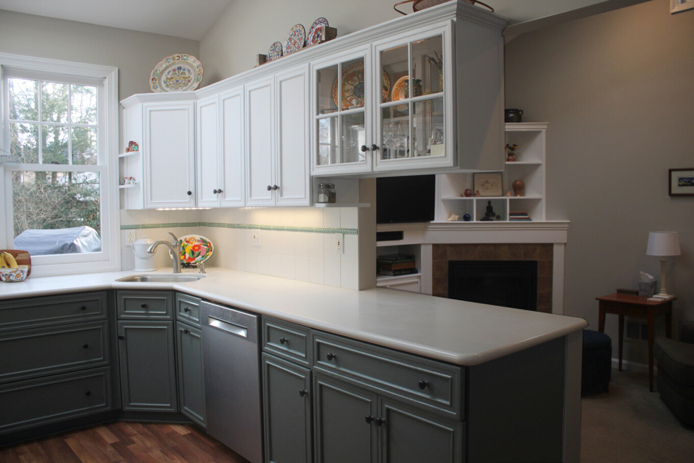 Shades of Gray in Kitchen